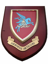 Airborne Artillery Wall Plaque UK Hand Made for MOD Regimental Parachute