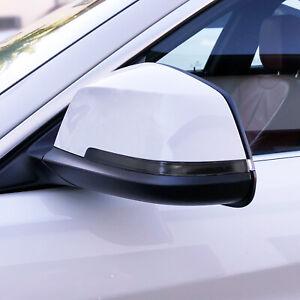 FOR 14-20 BMW 4 Series Gran Coupe Mirror Turn Signal SMOKE PreCut Vinyl Overlays