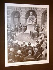 Venezia 27 aprile 1905 Biblioteca Marciana presso la Zecca + Goluchowski Tittoni