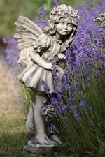 FLOWER FAIRIES Vanilleblume Figur Steinguss GARTENDEKORATION 23 kg! Skulptur
