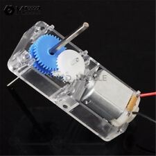 130 DC1.5-6V 1:94 Geared motor /w Box shell Case for DIY smart Robot Car