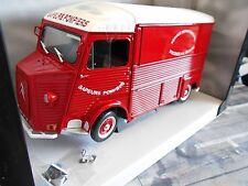 CITROEN Type HY Feuerwehr 1969 rot red Lieferwagen Van Bus Pompiers Solido 1:18