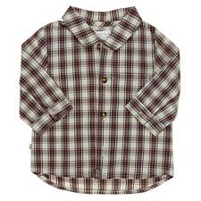 Obaïbi chemise à carreaux garçon  3 mois