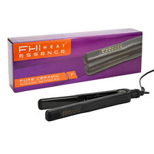 "FHI Heat Essence 1"" Pure Ceramic Professional Hair Flat Iron swivel cord"