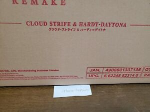 Final Fantasy VII Remake PLAY ARTS Kai Cloud Strife Hardy-Daytona ship to Fedex