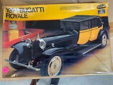 Sealed 1980 Italeri Testors 1/24 Scale 1931 Bugatti Royale Model Kit