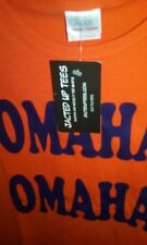 """OMAHA! OMAHA!"" Peyton Manning T-Shirt DENVER Broncos TENNESSEE Vols UT NEW"