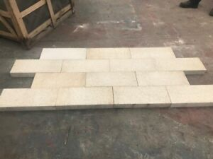 12.5m2 (1 Crate) Flamed GRANITE Paving Driveway / Patio / 200x450x40mm