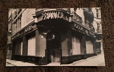 Vintage Postcard Unposted B&W Rp Madison Prunier Restaurant London England