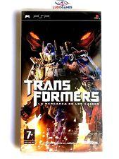 Transformers Venganza Caidos PSP Playstation Nuevo Precintado Retro Sealed New