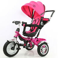 Little Bambino Tricycle 4 IN 1 Trike Pram Stroller Childrens Kids Baby Toddlers