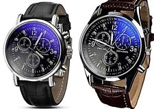 Markenlose runde polierte Quarz - (Batterie) Armbanduhren