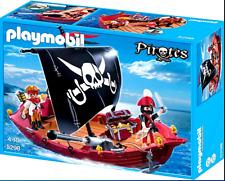 Playmobil 5298 Pirates Ship Toy Skull & Bones Corsair