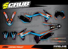 KTM graphics EXC 125 200 250 300 350 450 500 12 13 2012 2013 SCRUB decals kit