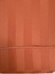 "Euro Pillow Shams Set 2 Melon Orange 26"" x26"" 300 threadcount Company Store sham"