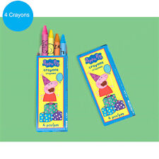Peppa Pig Party Supplies Favours CRAYONS BOX Genuine Licensed