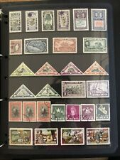 Liberia Stamps - 1930's To 1940's Mixed Page Of 29 Stamps