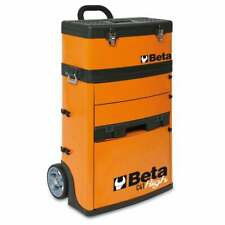 Beta Tools Beta C41H Tool Trolley With Detachable Tool Box Orange