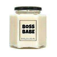 Boss Babe Scented Candle, Inspo Gift, Motivational Gift