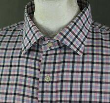 "EDEN PARK Mens Check Pattern SHIRT - Size 18"" Collar / 46cm - 4XL"