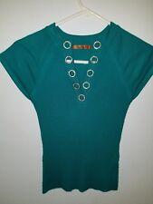 womens emerald green sweater size S