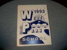 1993 WEST PARK SCHOOL YEARBOOK WEST PARK NY