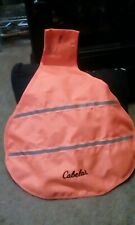 Cabela's Red Head Fluorescent Hunting Safety Vest For Dog Size Large