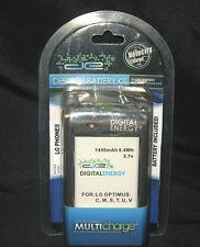 DE Digital Energy Desktop Dock/Charger/Spare Battery Kit for LG