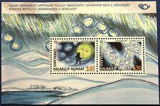 Greenland Block 2004.03.26. Norse Mythology - Aurora Borealis - MNH
