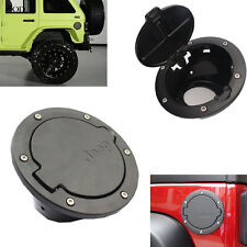Aluminum Gas Fuel Tank Cap Lid Filler Cover for For Jeep Wrangler JK 2/4 Door