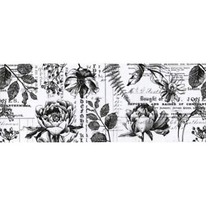 "Tim Holtz Botanical Idea-Oligy Collage Paper 6"" x 6 yards"