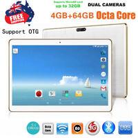 "10.1"" 4G + 64G Android 6.0 Dual Sim Dual Camera Phone Wifi Phablet Tablet PC AU"