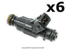 Mercedes w210 w208 REBUILT Fuel Injector Set of 6 GB +1 YEAR WARRANTY