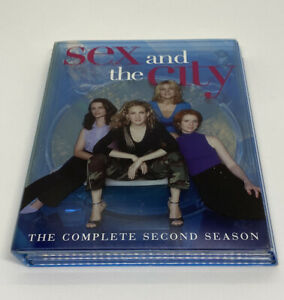 Sex and the City: The Complete Second Season (DVD, 2001, 3-Disc Set)