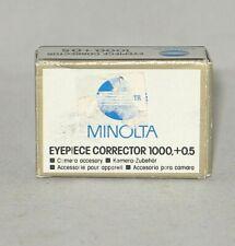 Minolta Diopter #1 (.05) for Sony Alpha, Minolta, Konica Minolta