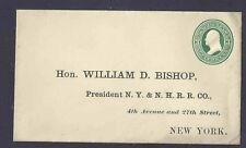 NEW YORK & NEW HAVEN RAILROAD, 1872 YALE GRADUATE, MINT