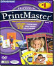 PRINTMASTER 18 PLATINUM Print Master Design Publishing Software NEW Windows CD