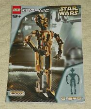 (Instructions) for LEGO Set 8007 C-3PO - INSTRUCTION MANUAL ONLY