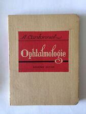 OPHTALMOLOGIE 1957 CANTONNET ILLUSTRE