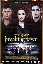 R Pattinson : Twilight Saga Breaking Dawn 2 : POSTER