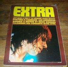EXTRA N.29 - Avril 1973 Revue Pop Underground Jeff Beck, Traffic, Engel, Slade