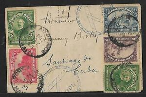 HAITI TO SPANISH ANTILLES WIAE AIR MAIL COVER 1928