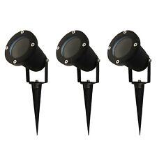 3x GU10 LED Gartenstrahler Gartenleuchte Bodenstrahler Strahler Außenlampe IP65