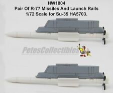 Hobby Master HW1004 R-77 Missiles For HA5703 Chinese Su-35 Su-35S PLAAF 1:72ND