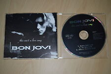 Bon Jovi ‎– This Ain't A Love Song. JOVDJ17 CD-Maxi
