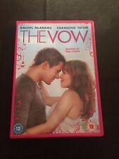 The Vow (DVD, 2012) rachel mcadams, channing tatum, region 2 uk dvd