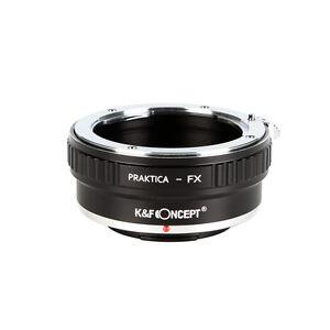 Praktica B PB-FX Adapter Ring for Praktica PB lens To Fujifilm FX Mount Cameras