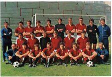 Cartoncino Squadra Torino Calcio 1970/71 cm 15,3 x 22,5 (Retro Autografi Stampat