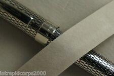 Sheaffer Prelude Signature Palladium,Diamond cut Imperial Pattern Rollerball pen