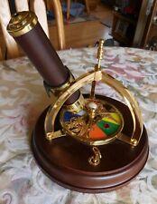 Vintage Brass & Wood San Francisco Music Box Company Kaleidoscope
